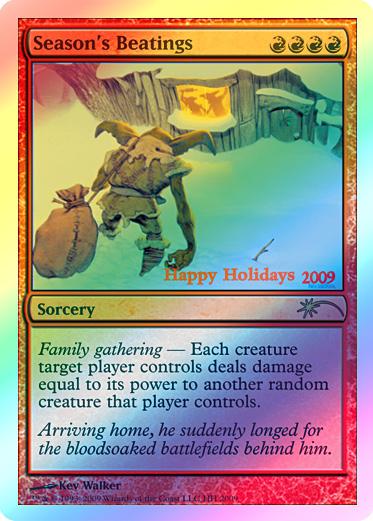 Holiday Cards   GatheringMagic.com - Magic: The Gathering Website