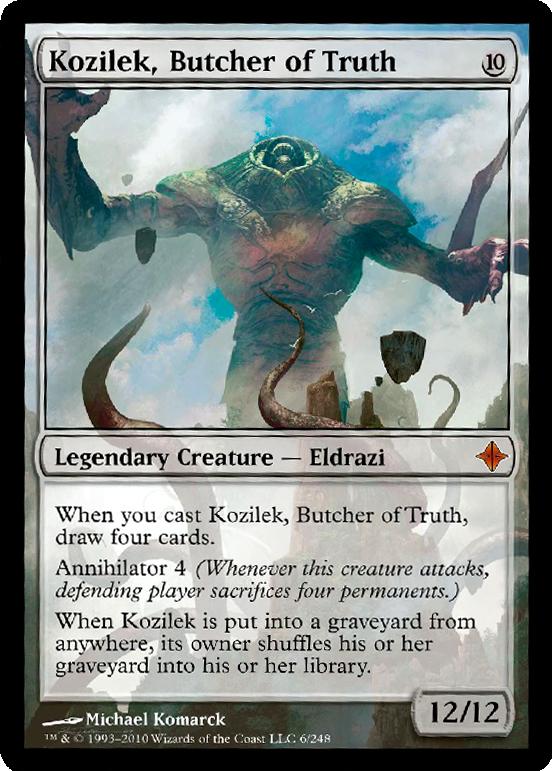 Ulamog the Ceaseless Hunger  Battle for Zendikar Magic