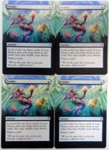 Painting Magic - Ponder - Dark blue bottom