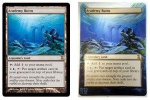 Painting Magic - Academy Ruins example