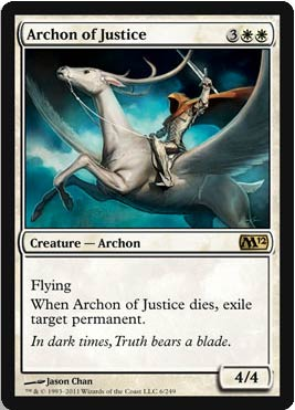 Magic 2012 - Archon of Justice